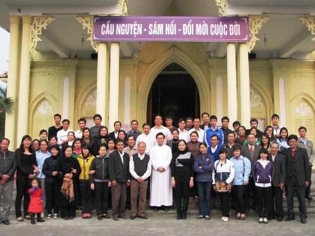 Ngày Tĩnh Tâm Mùa Chay cho các Cộng tác viên của Caritas Giáo phận Hải Phòng