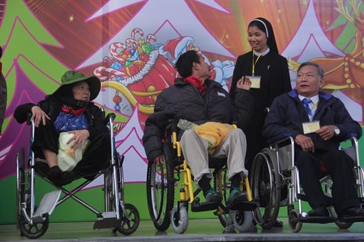 Caritas Giáo phận Thái Bình tổ chức đại lễ mừng Chúa Giáng Sinh cho người khuyết tật