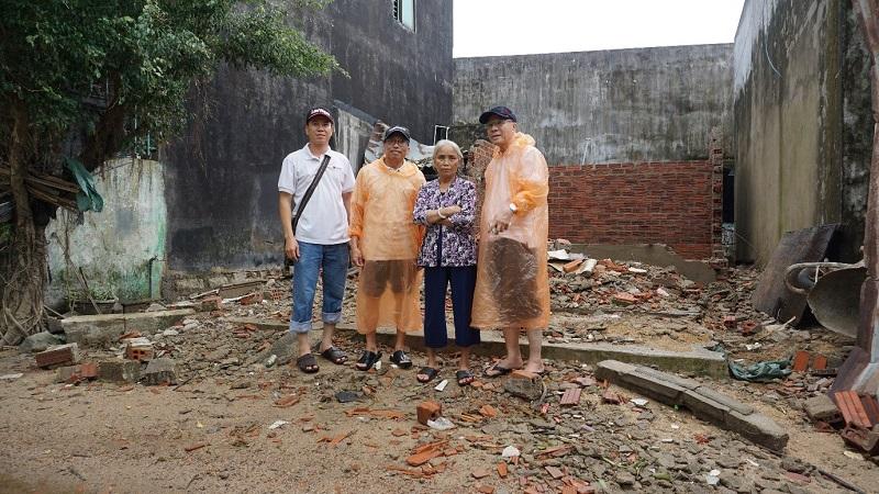 Caritas Việt Nam Thăm Vùng Rốn Lũ Giáo phận Quy Nhơn