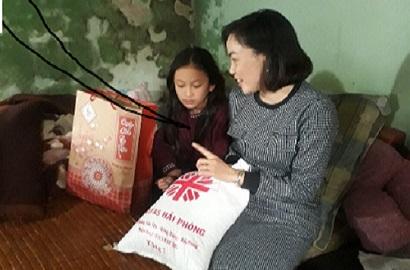Caritas Hải Phòng chia sẻ niềm vui Xuân với anh chị em có H. và những người có hoàn cảnh khó khăn tại Hải Phòng