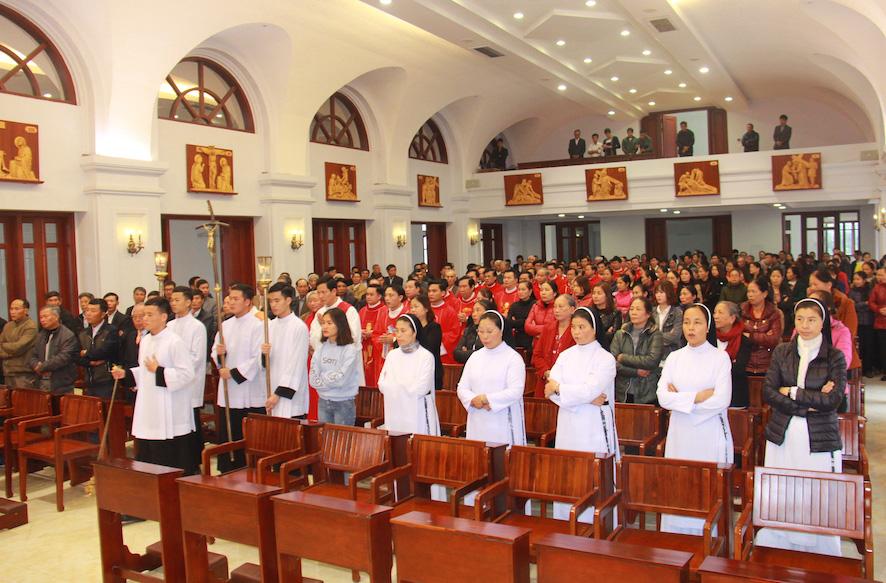Caritas Thái Bình:  Mừng Lễ Các Thánh Anh Hài – Bổn mạng Ban Bảo Vệ Sự Sống
