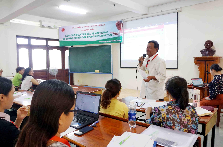 Caritas Việt Nam: Khóa tập huấn Nâng Cao Nhận Thức Bảo Vệ Môi Trường và Biến Đổi Khí Hậu qua Thông Điệp Laudato Si