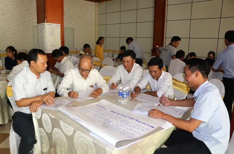Caritas Hà Tĩnh: Tập huấn nghiệp vụ công tác cứu trợ năm 2019