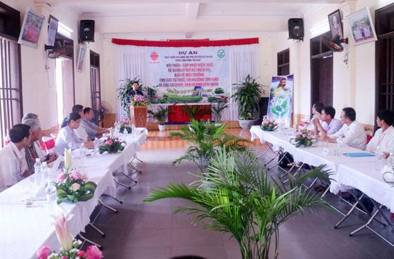 Caritas Hải Phòng: Hội Thảo về Quản Lý Rủi Ro Thiên Tai và Bảo Vệ Môi Trường