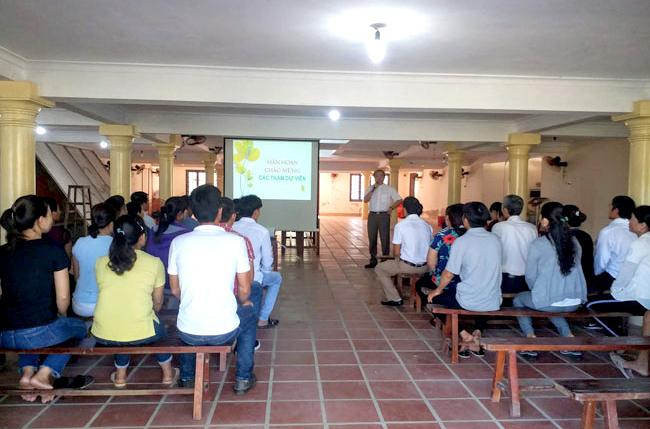 Caritas Huế: Học hỏi Linh đạo Caritas và thành lập Câu lạc bộ Người Khuyết Tật