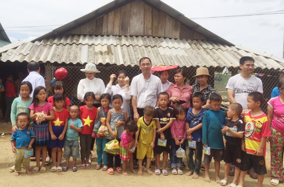 Caritas Thanh Hoá: Hành trình tới Bản Mường