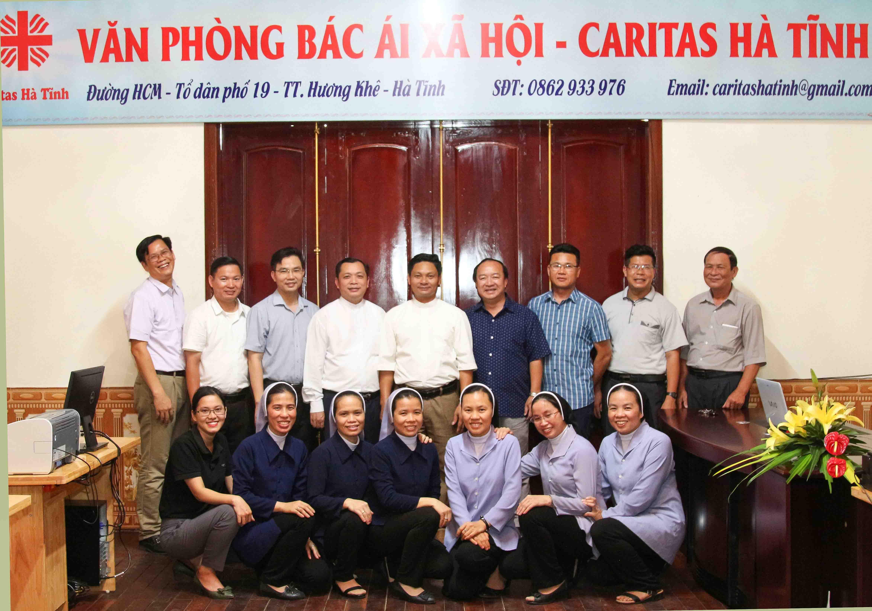 Khai trương Văn phòng Bác Ái Xã Hội - Caritas Hà Tĩnh