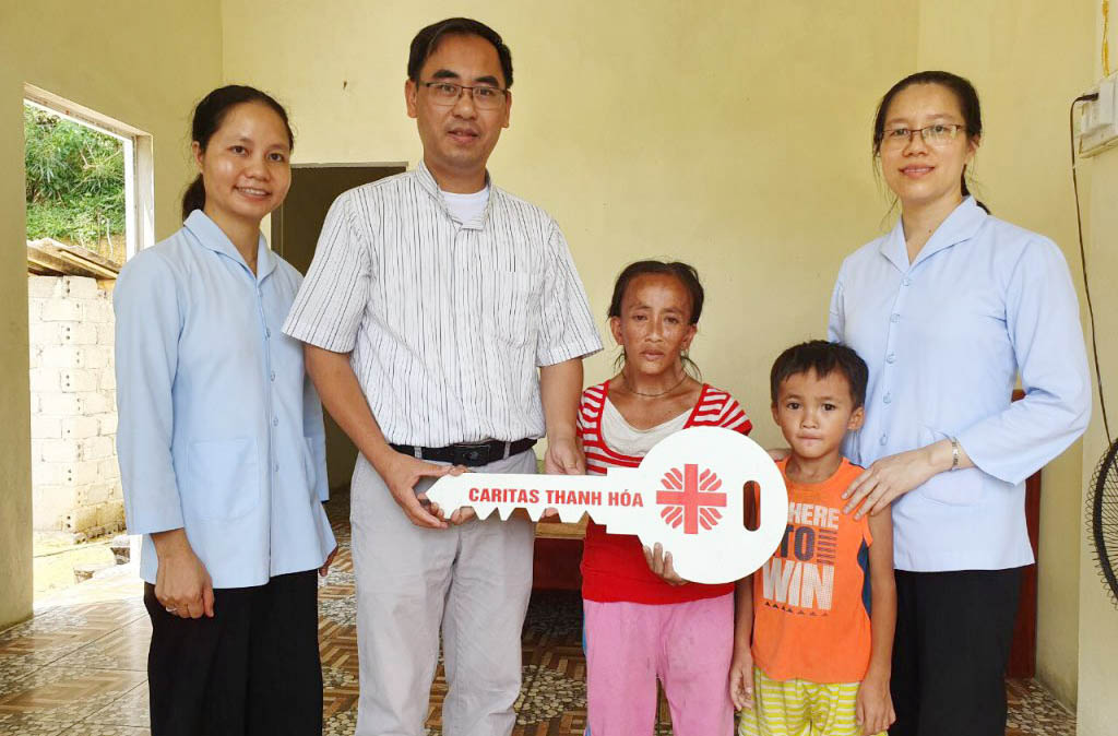 Caritas Thanh Hoá: Xây Tình Chúa qua những căn nhà yêu thương