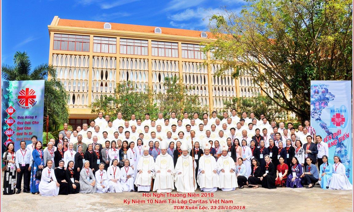 Caritas Việt Nam: HNTN  2018 - Kỷ niệm 10 năm tái hoạt động