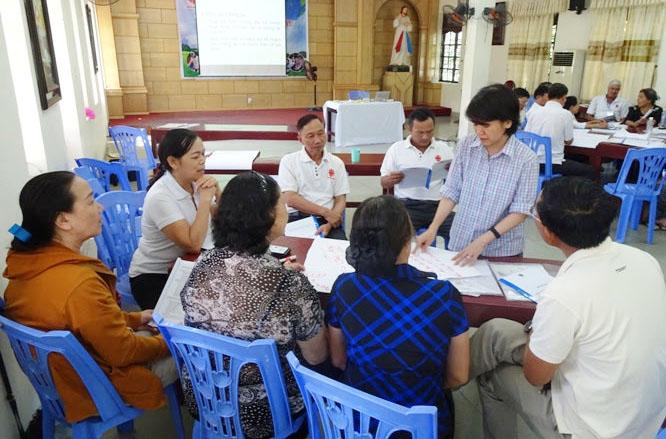 Caritas Hải Phòng: Khóa tập huấn nhận biết các dạng khuyết tật và kỹ năng hỗ trợ người khuyết tật