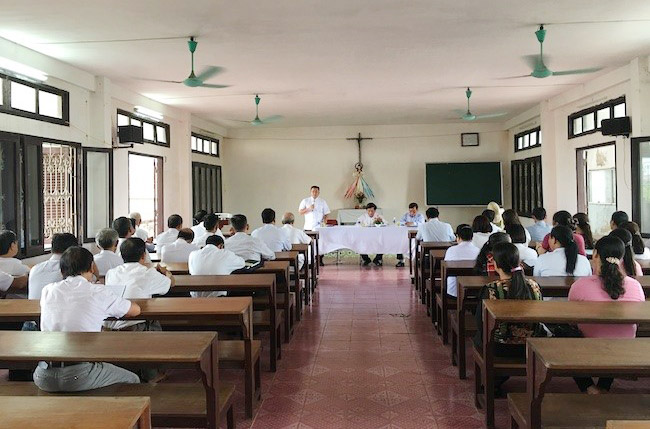 Caritas Bùi Chu: Ban bảo vệ sự sống bầu lại ban đại diện mới