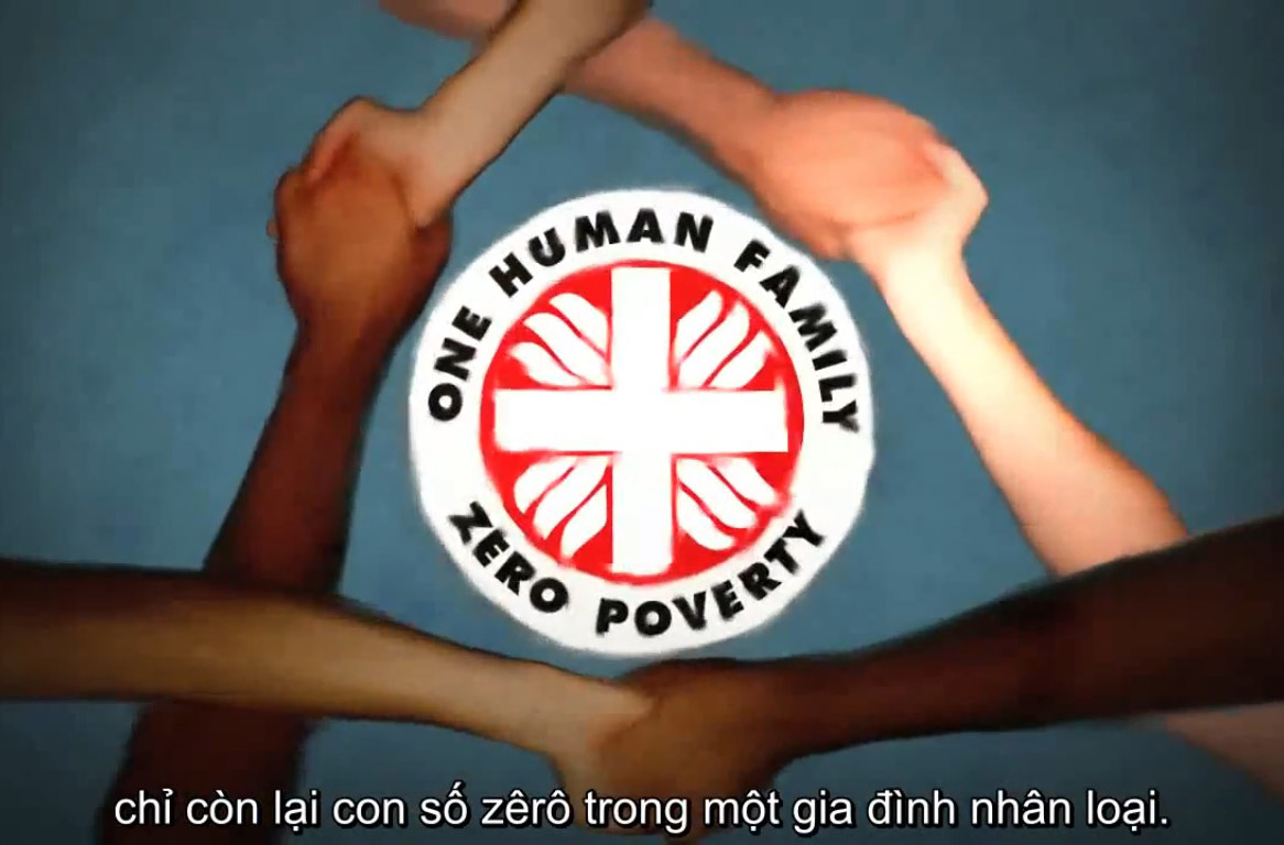 Một gia đình nhân loại không còn nghèo đói
