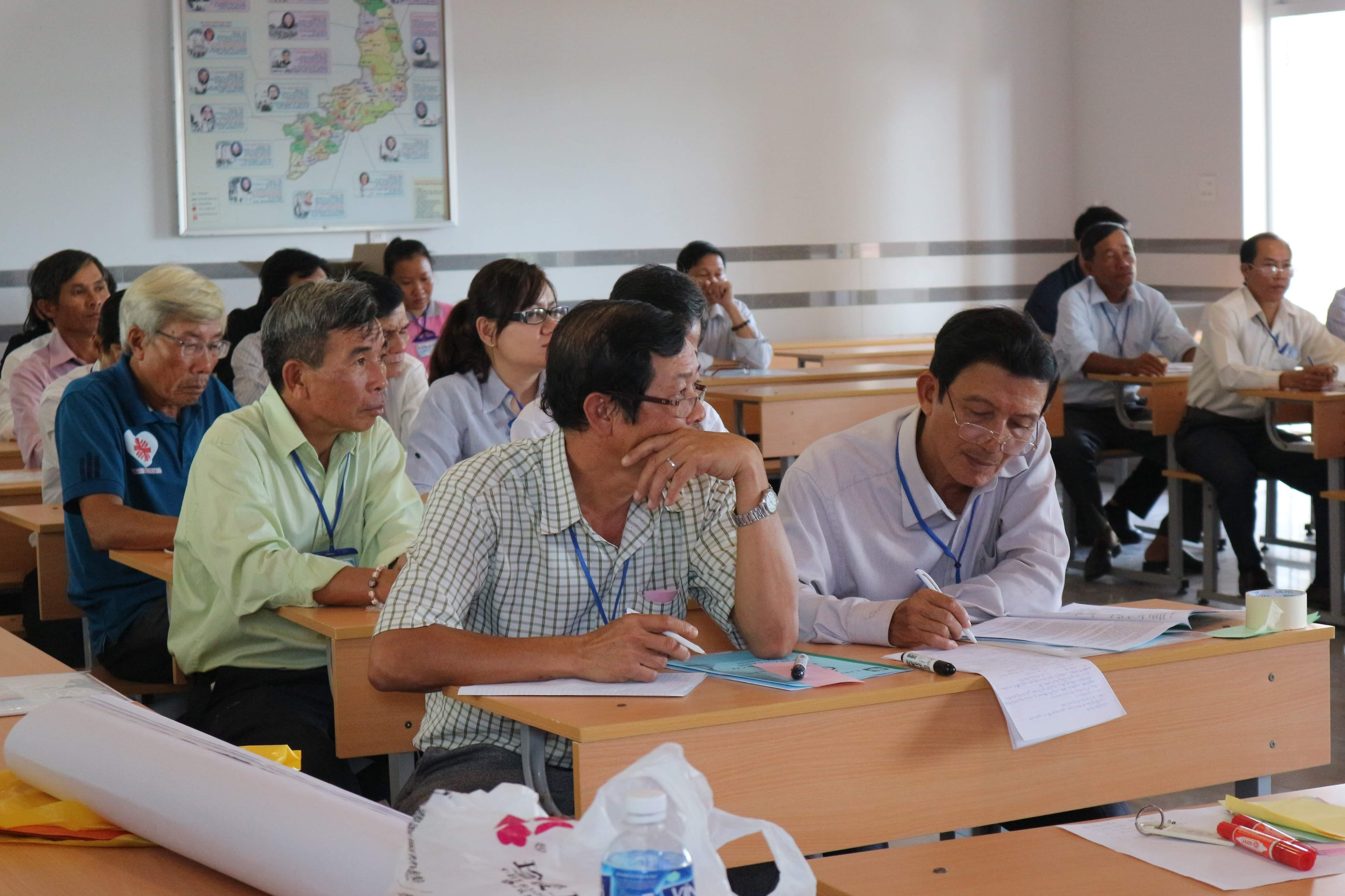 Caritas Phan Thiết: Khoá tập huấn Kỹ Năng Tham Vấn cho Cộng tác viên và Tình nguyện viên