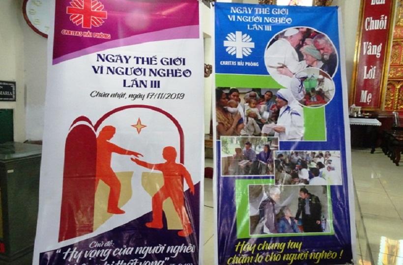 Caritas Hải Phòng: Các hoạt động nhân ngày Thế giới vì người nghèo lần thứ III