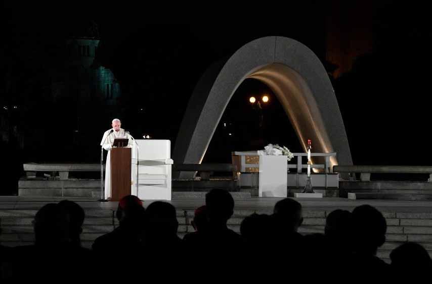 Đức Thánh Cha trong cuộc gặp gỡ vì hoà bình ở Hiroshima