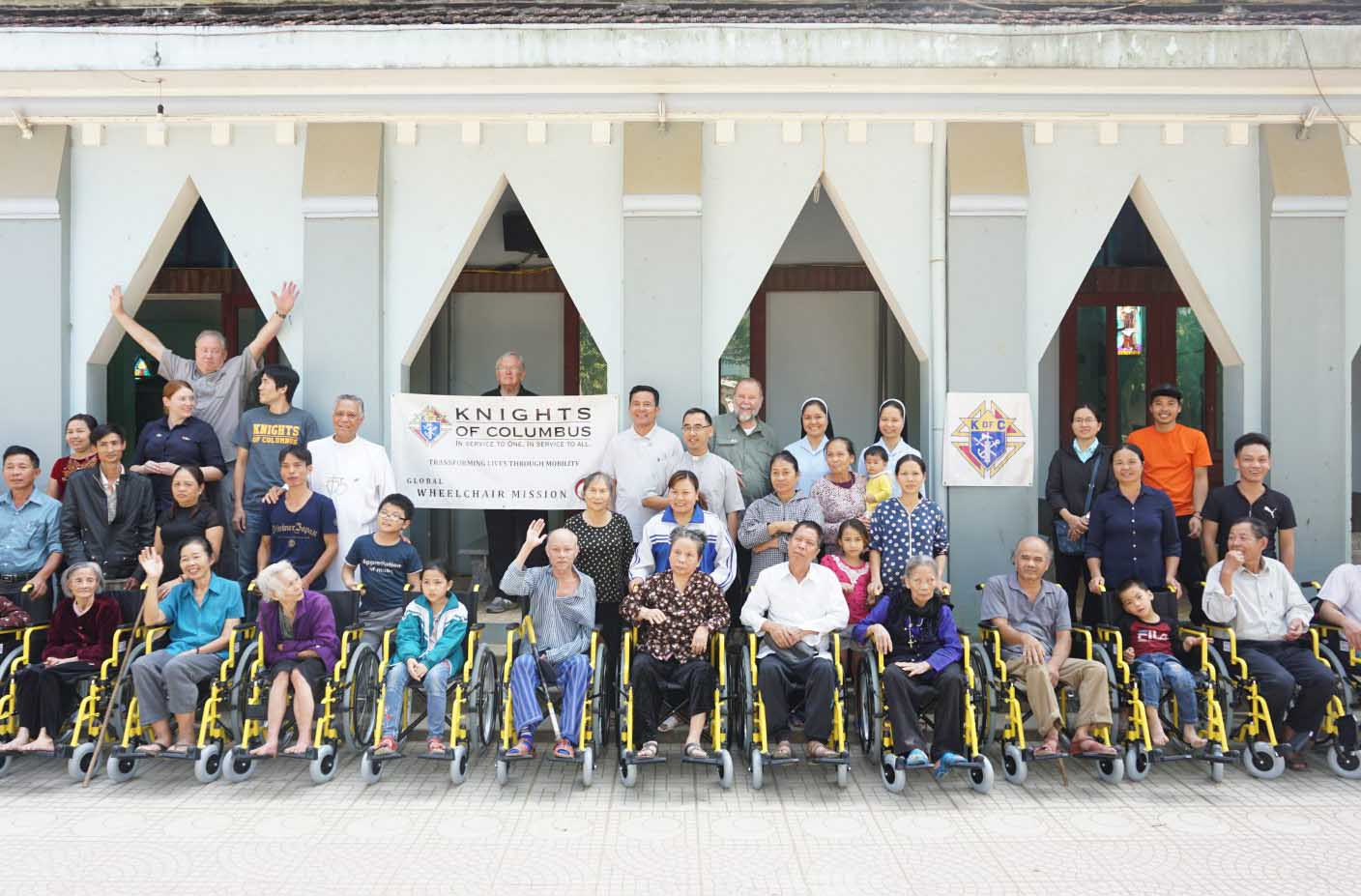Caritas Vietnam: Christmas Gift from American Wheelchair Mission