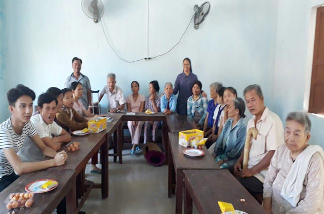 Caritas Huế: Thành lập Câu lạc bộ Người khuyết tật tại Giáo xứ Lương Văn