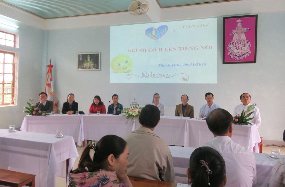 Caritas Huế: Toạ đàm về người nhiễm HIV tại Quảng Trị
