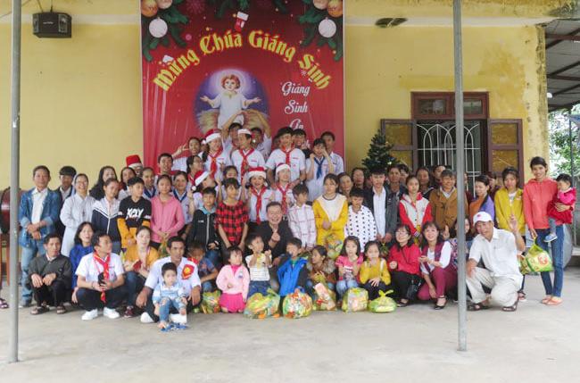 Caritas Huế: Tổ chức vui Giáng sinh cho trẻ OVC tại Quảng Trị
