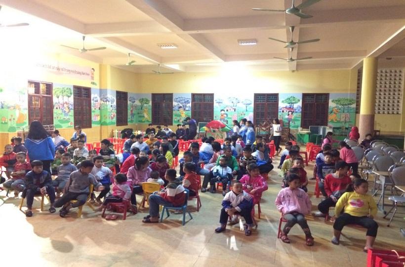 Caritas Thanh Hoá: Đem Niềm Vui Giáng Sinh Đến Với Làng Trẻ SOS