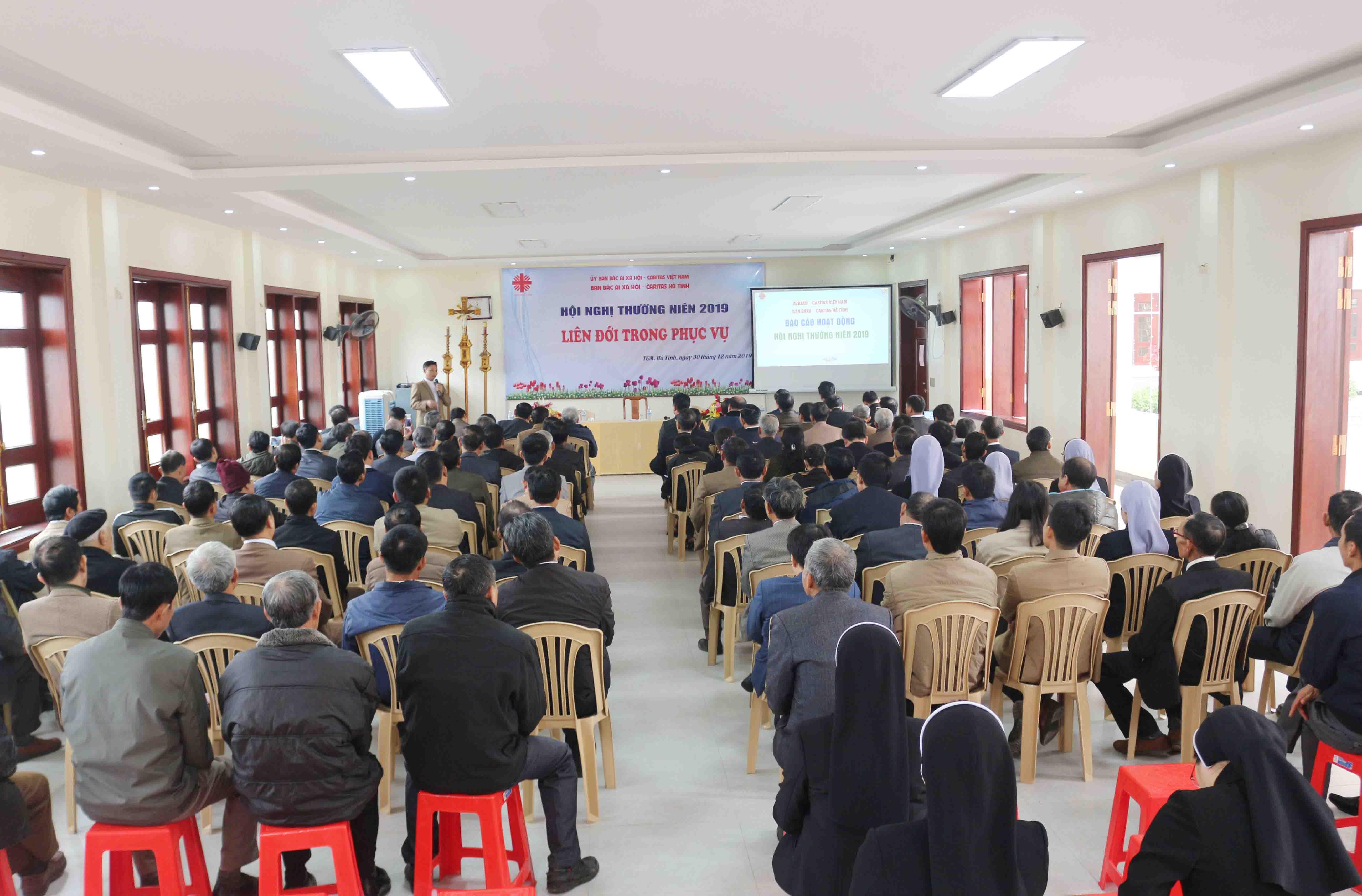 Caritas Hà Tĩnh: Hội Nghị Thường Niên 2019