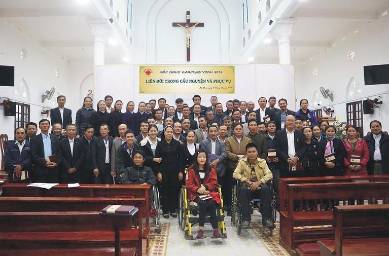 Caritas Vinh: Hội Nghị Thường Niên 2019