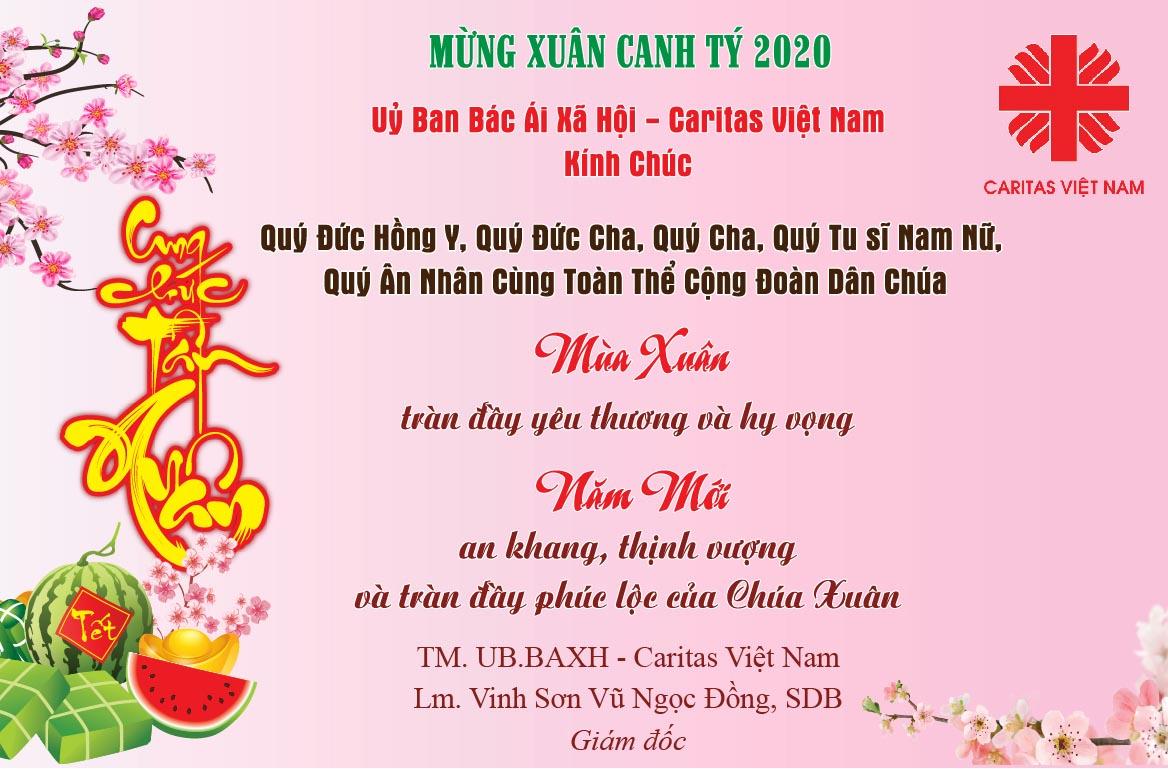 Caritas Việt Nam: Chúc Mừng Xuân Canh Tý 2020