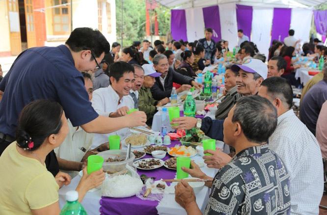 Caritas Hải Phòng: Hội chợ Tết Canh Tý dành cho các bệnh nhân phong Chí Linh - Hải Dương