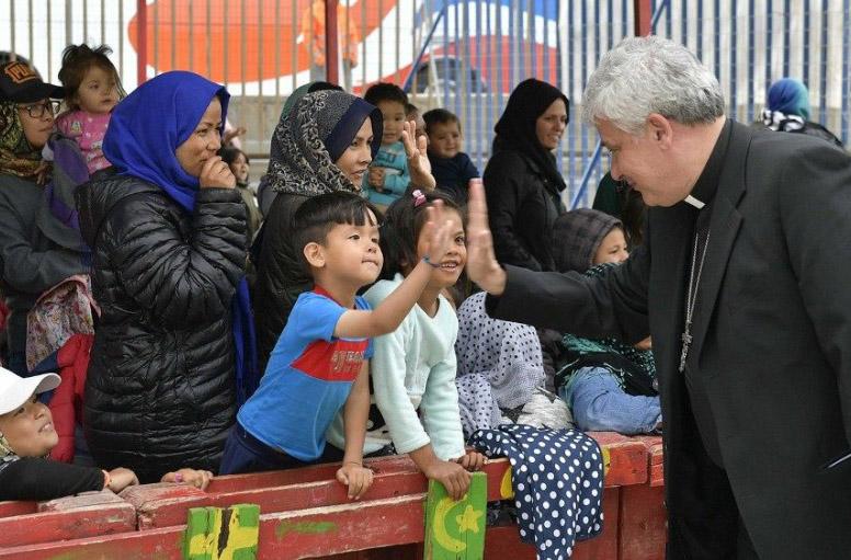 Đức Hồng y Krajewski khánh thành nhà đón người vô gia cư tại nam Italia