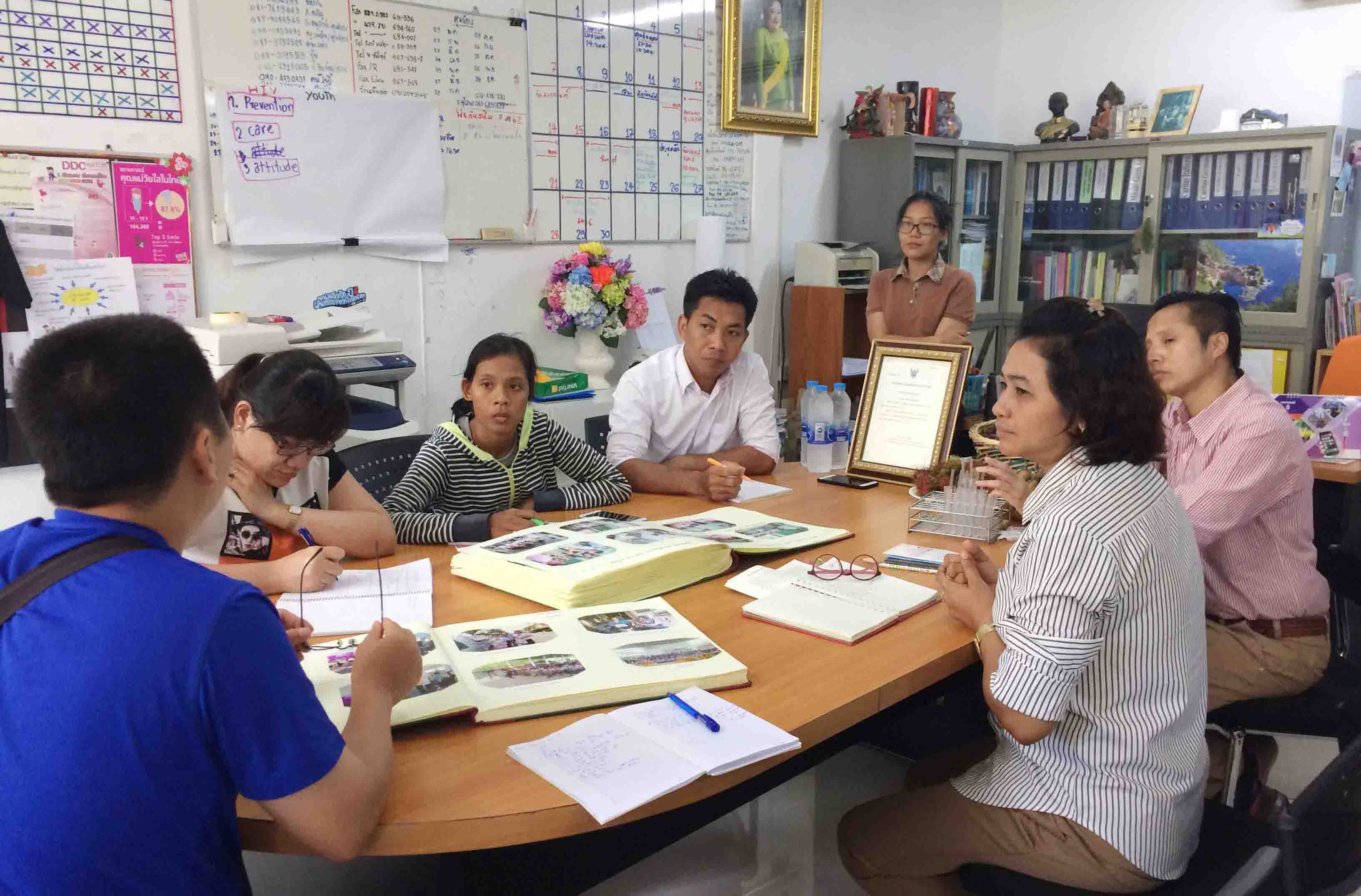 Ban HIV/AIDS Caritas Phan Thiết: Trải nghiệm - học hỏi