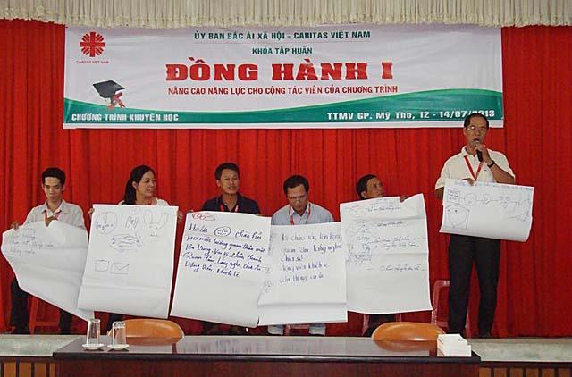 Khóa Đồng hành I của ban Khuyến học Caritas Việt Nam