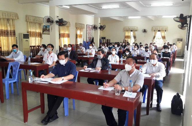 Caritas Hải Phòng: Tập huấn cho hội viên Caritas các kiến thức và kỹ năng ứng phó với đại dịch COVID-19