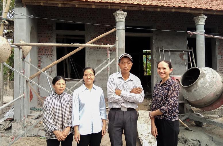 Caritas Hà Nội: Hỗ trợ xây nhà tình thương trong Mùa Chay