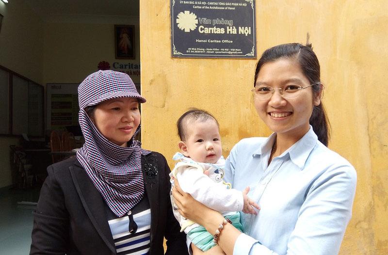 Caritas Hà Nội: Những trái tim phục sinh