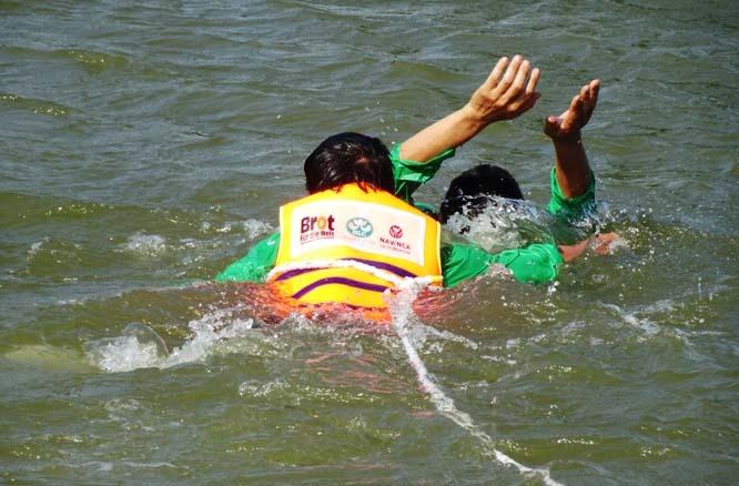 Caritas Hải Phòng: Hội diễn thực hành cứu hộ - sơ cấp cứu dành cho các đội Ứng cứu khẩn cấp