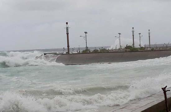 Tin khẩn cấp về bão số 16 (Tembin) trên quần đảo Trường Sa
