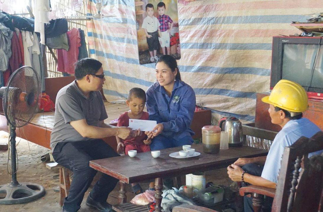 Caritas Việt Nam: Chuyến Thăm Thực Tế Các Gia Đình Bị Ảnh Hưởng Bởi Thiên Tai
