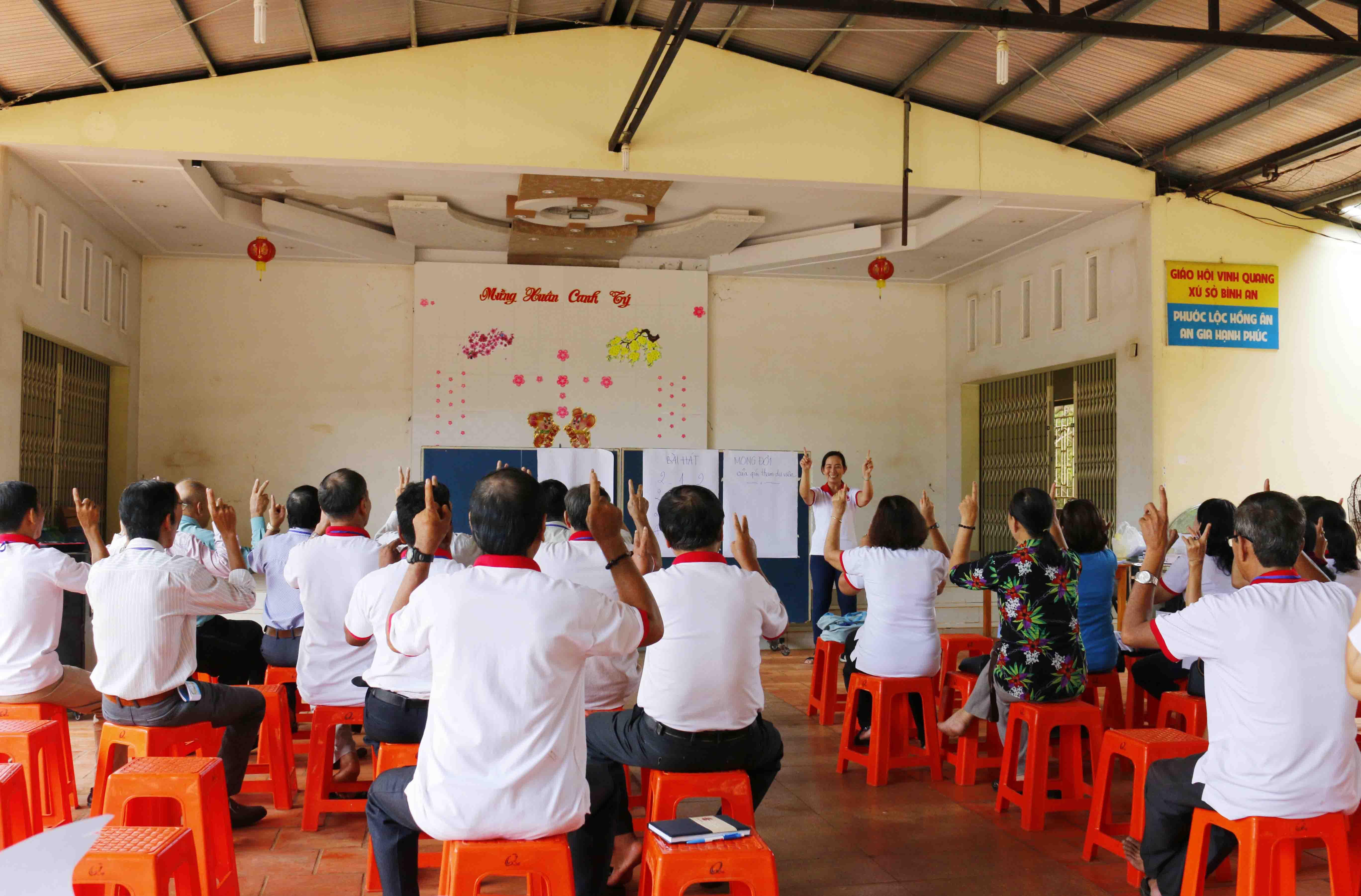 Caritas Phú Cường: Tập huấn Di Cư Hợp Pháp - Mưu Sinh An Toàn tại Giáo hạt Bình Long