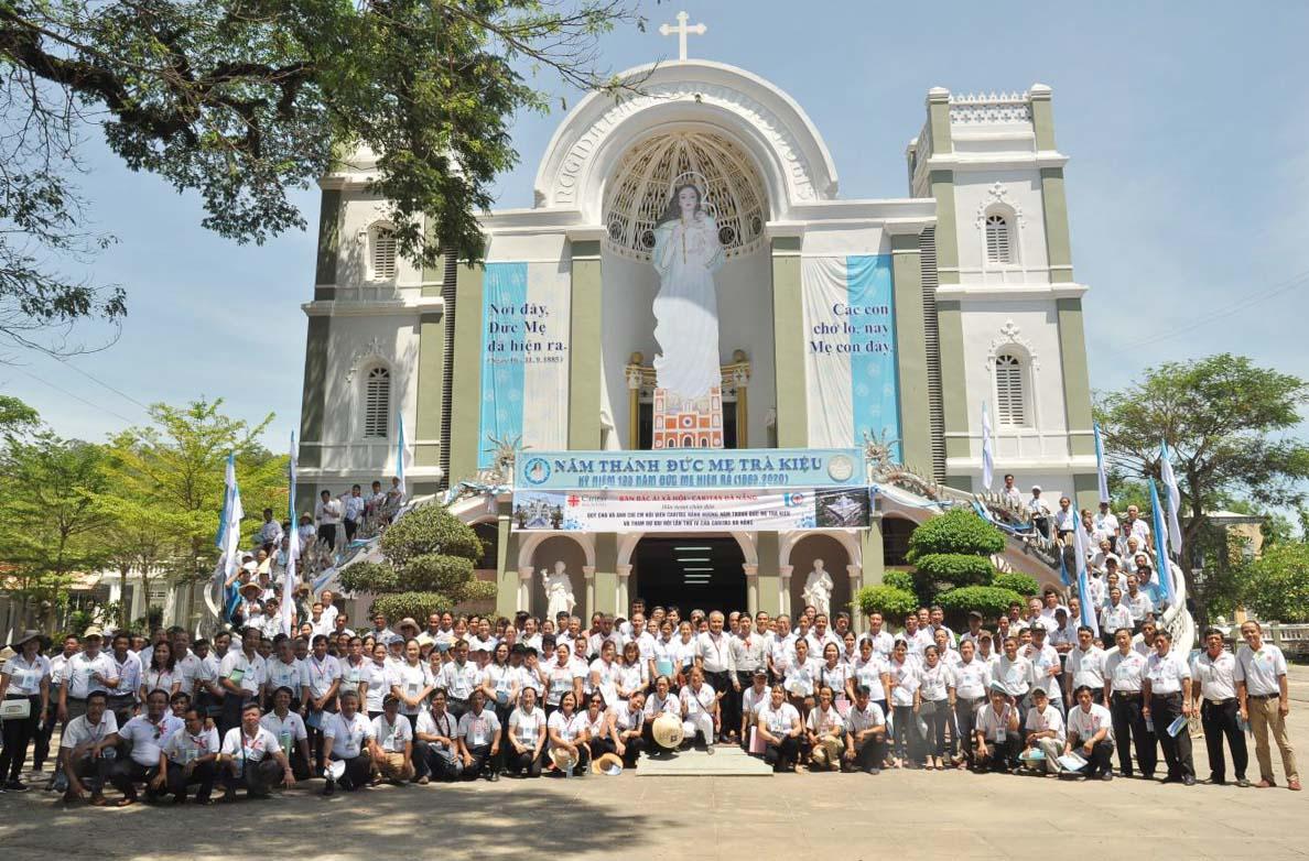 Caritas Đà Nẵng: Hành Hương Năm Thánh Đức Mẹ Trà Kiệu Và Kỷ Niệm 10 Năm Tái Lập (2010 - 2020)