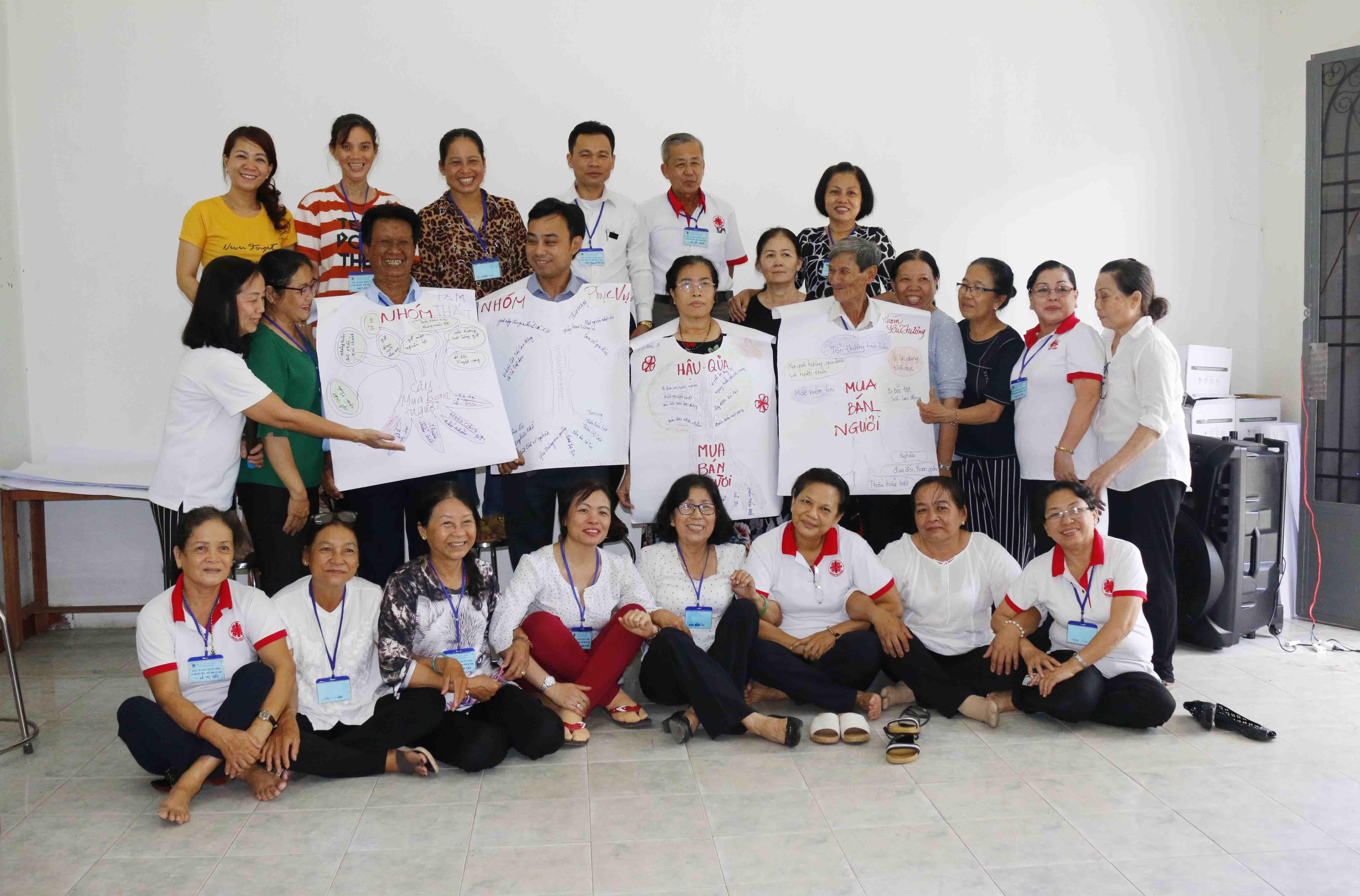 Caritas Phú Cường: Tập huấn khóa III về Di Cư Hợp Pháp - Mưu Sinh An Toàn tại Giáo hạt Củ Chi