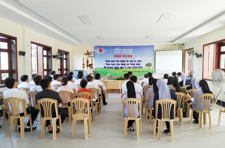 Caritas Hà Tĩnh: Hội nghị thảo luận xây dựng cơ cấu tổ chức và triển khai kế hoạch hành động 5 năm (2020 – 2024)