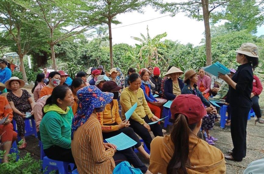 Caritas Phan Thiết: Truyền thông phòng tránh buôn người