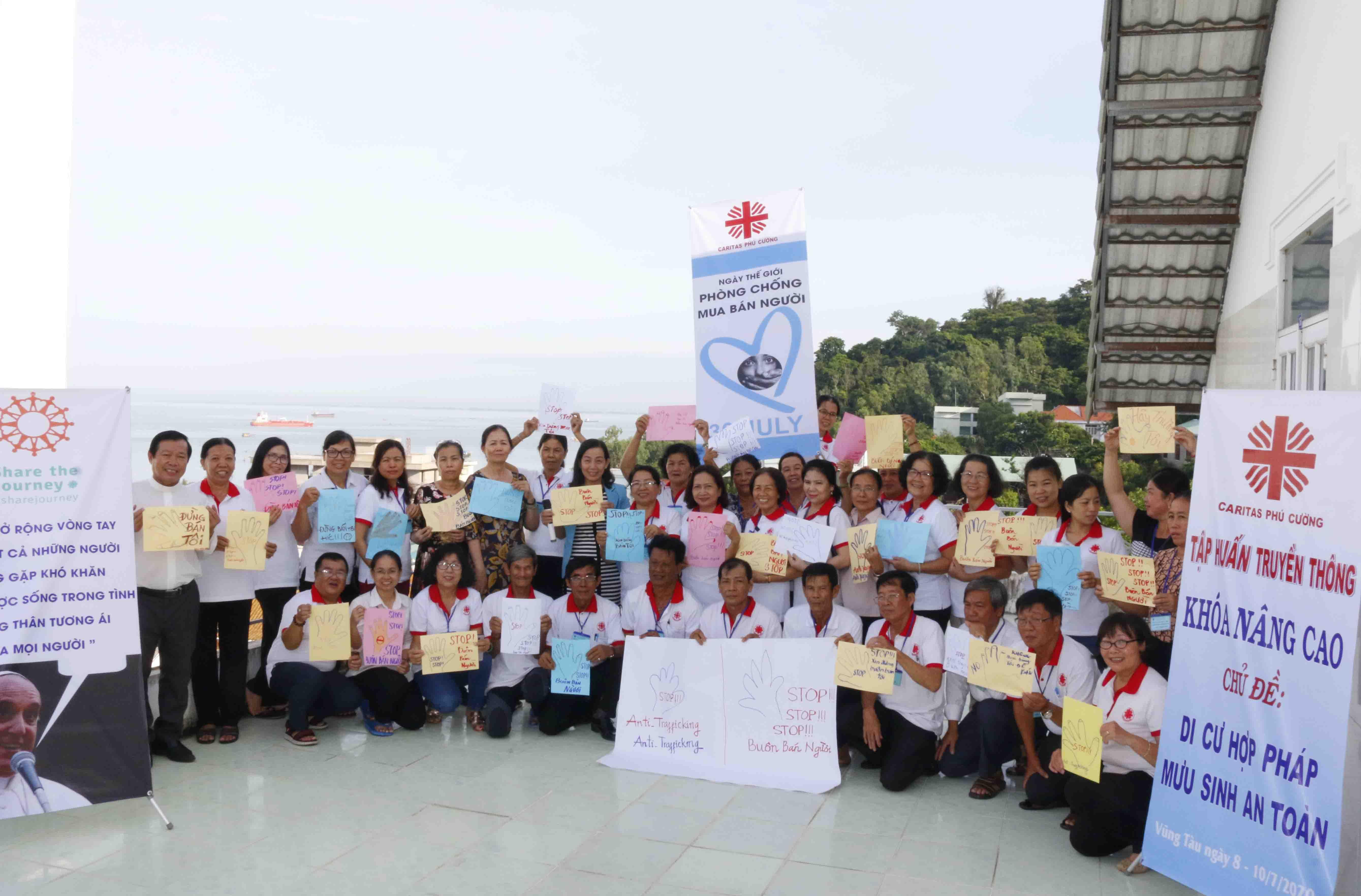 Caritas Phú Cường: Tập Huấn Nâng Cao Kỹ Năng Truyền Thông Phòng Tránh Buôn Người