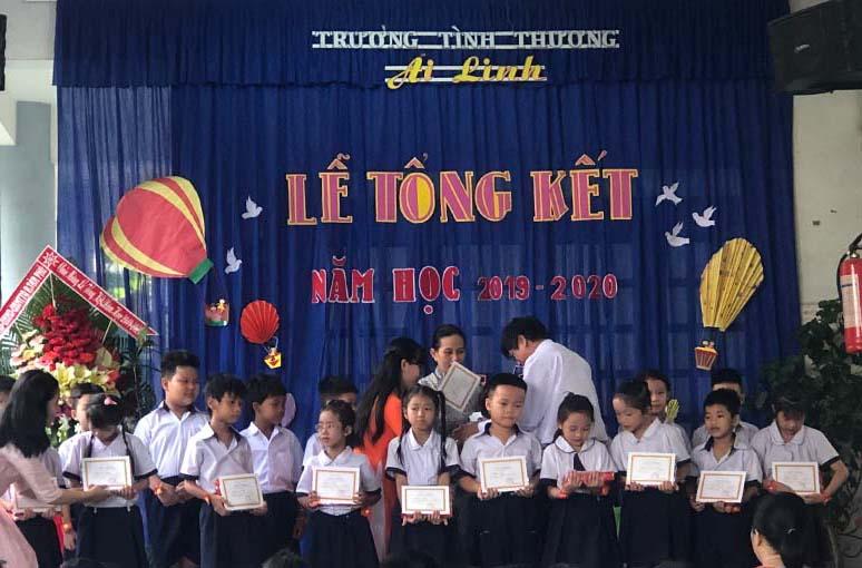 Caritas Sài Gòn: Trường tình thương Ái Linh tổng kết năm học 2019-2020