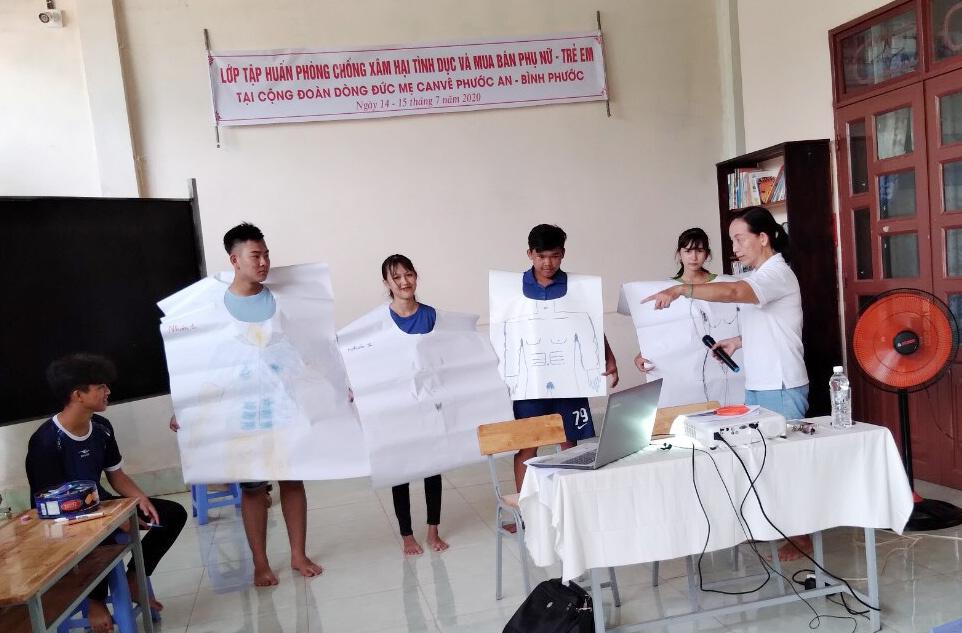 Caritas Phú Cường: Tập Huấn Phòng Tránh Xâm Hại Tình Dục Và Mua Bán Phụ Nữ - Trẻ Em