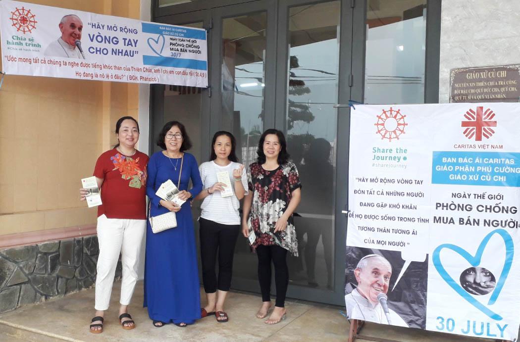 Caritas Gx. Củ Chi: Một Chút Tâm Tình Nhân Ngày Thế Giới Phòng Chống Mua Bán Người (30/7)