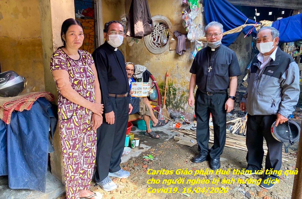 Hoạt Động Bác Ái Của Caritas Giáo Tỉnh Huế