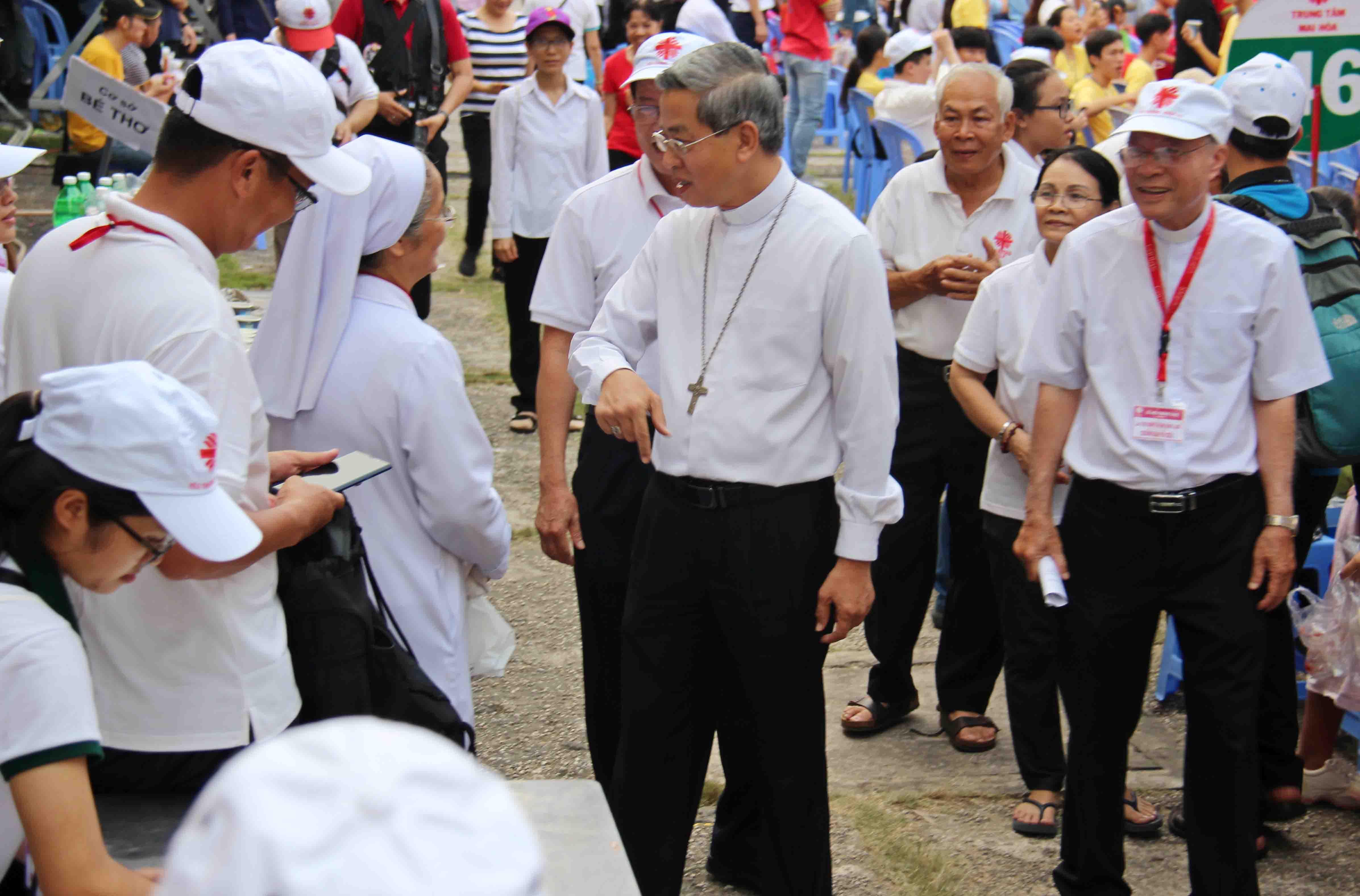 Hoạt Động Bác Ái Của Caritas Giáo Tỉnh Sài Gòn
