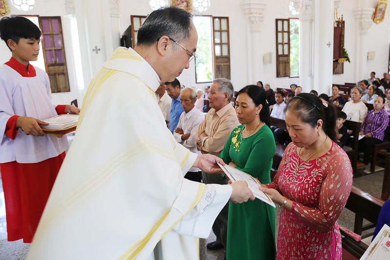Caritas Hà Nội: Đón nhận 91 tân hội viên tại Giáo xứ Tiêu Hạ