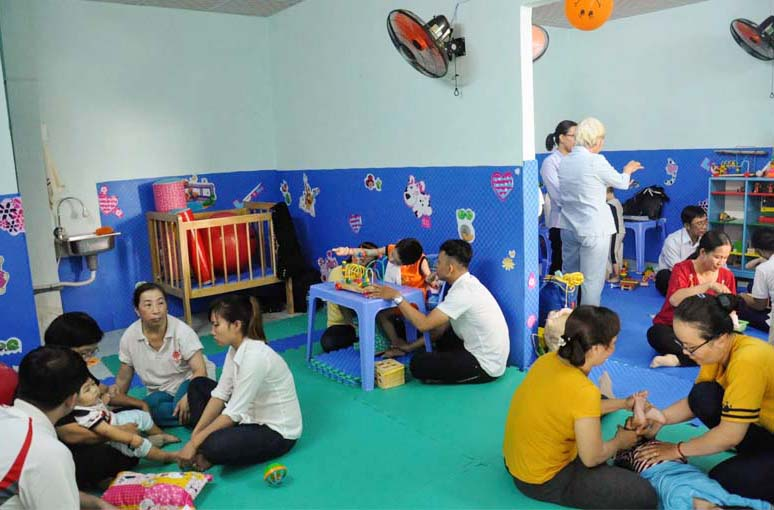 Caritas Sài Gòn: Mái Ấm Têrêsa Calcutta – Điểm hẹn cho trẻ có tổn thương não